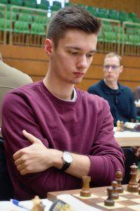 Der Sieger des Turniers Daniel Sadzikowski
